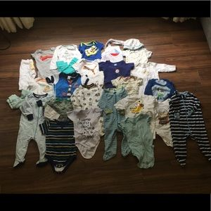 Other - #9 Huge Baby Boy Bundle-53 Pieces!